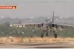 Video: Chiến cơ Nga trở về căn cứ sau khi ném bom IS ở Syria