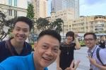 Ảnh hậu trường ngộ nghĩnh của các MC, BTV Diễm Quỳnh, Quang Minh