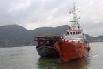 Giải cứu tàu cá cùng 34 thuyền viên gặp nạn trên biển