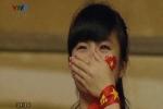 Nữ CĐV khóc cuối trận U19 Việt Nam-Nhật Bản gây sốt
