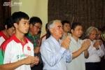 U19 Việt Nam báo công với Đại tướng Võ Nguyễn Giáp