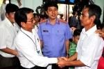 Hình ảnh xúc động buổi xin lỗi công khai 'người tù thế kỷ' Huỳnh Văn Nén