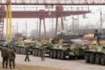 Ukraine phủ nhận tin đưa quân đến Crưm