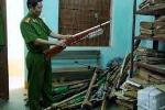 Quảng Bình: Thu hồi hàng loạt vũ khí, vật liệu nổ