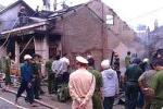Cháy nhà trẻ tư nhân, ba nhà bị thiêu rụi