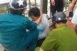 Mẹ ôm con 4 tháng tuổi định nhảy sông Hàn tự tử