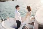 Văn Quyến lần đầu lộ ảnh cưới lãng mạn trên biển