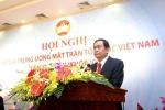 Tân Chủ tịch UBTƯ MTTQ Việt Nam: 'Dành hết sức mình vì sự nghiệp đại đoàn kết toàn dân tộc'