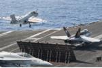 Tàu sân bay Mỹ không kích IS từ Địa Trung Hải