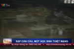Nghệ An: Cần cẩu đổ sập vào trường học, nam sinh lớp 10 chết thương tâm