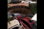 Những hình ảnh không tin nổi về trận mưa lũ kỷ lục ở Trung Quốc