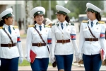 Ngẩn ngơ ngắm nhan sắc xinh đẹp như hoa hậu của nữ CSGT Triều Tiên