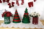 Hướng dẫn làm cây thông Noel từ giấy rất đơn giản