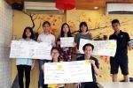 Thuyết trình tiếng Anh dạn dĩ nhờ hoạt động ngoại khóa của 'Lớp học 1000 đồng'