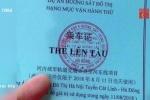 Vì sao vé đi thử tàu Cát Linh - Hà Đông in chữ Trung Quốc?