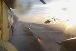 Mãn nhãn xem trực thăng vũ trang Nga xả tên lửa trong tập trận