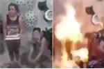 Video: Hai cô gái bốc cháy trong ngày sinh nhật vì món đồ chơi phổ biến này