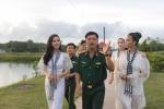 Ky Duyen, Hoang My hao hung giao luu cung chien si Tay Ninh hinh anh 9