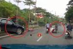 Audi Q5 đâm liên hoàn Mercedes và 2 xe máy: Nhân chứng tiết lộ bất ngờ
