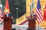 Trực tiếp: Họp báo của Chủ tịch nước Trần Đại Quang và Tổng thống Trump