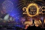 Video: Pháo hoa rợp trời mừng năm mới 2018 trên khắp thế giới