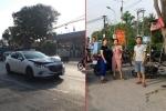 Bị ô tô đâm từ phía sau, người phụ nữ đi xe máy văng xa chết tại chỗ