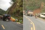 Tai nạn liên hoàn khiến 4 người thương vong ở Dốc Cun, Hoà Bình
