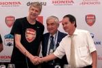 Chính thức: Bầu Đức ngừng hợp tác với Arsenal