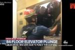 Clip: Thang máy rơi tự do 84 tầng, thai phụ vẫn bình an
