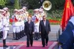 Lễ đón Tổng Bí thư, Chủ tịch Lào Bounnhang Vorachith
