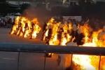 Clip: 32 người đồng loạt châm lửa tự thiêu, lập kỷ lục thế giới