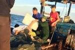 Sóng đánh chìm tàu, 3 ngư dân trôi dạt giữa biển khơi