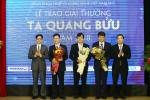 3 nhà khoa học tài năng nhận giải thưởng Tạ Quang Bửu 2018