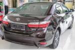 Toyota thông báo giá mới năm 2018