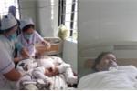 Đốt đèn dầu bắt muỗi, mẹ con bệnh nhi bỏng nặng nhập viện