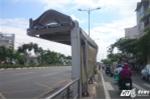 Cận cảnh trạm chờ xe buýt nhếch nhác trên tuyến đường đẹp nhất Sài Gòn