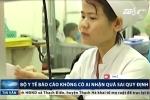 Bộ Y tế báo cáo không có cán bộ nhận quà sai quy định