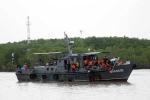 Chìm tàu trên sông Soài Rạp, 5 người mất tích