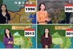 Video nữ MC thời tiết 'trẻ mãi không già' khiến dân mạng sửng sốt