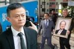 Tỷ phú Jack Ma và vợ con đưa Kim Dung về nơi an nghỉ cuối cùng