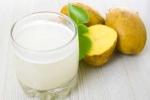 Nước ép khoai tây giúp trị bệnh gút, mỡ máu, ung thư
