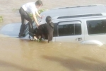Ô tô 7 chỗ tông chết nhân viên bến phà rồi lao xuống sông