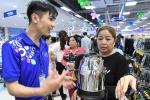 Lần đầu tiên người dân huyện Gò Dầu mua được 10 gói mì với giá chỉ 2.000 đồng