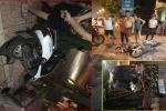 Ô tô tông văng 5 người trên đường bỏ chạy sau tai nạn, tài xế nói 'không sao đâu' rồi đòi đi tiếp