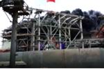Nhà máy Nhiệt điện Duyên Hải 3 bốc cháy ngùn ngụt, công nhân đu dây tháo chạy
