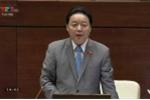 Truyền hình trực tiếp: Bộ trưởng Tài nguyên - Môi trường trả lời chất vấn những vấn đề nóng
