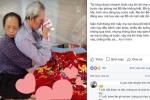 Con gái cụ bà ôm chặt cụ ông trên giường bệnh gây 'bão' mạng: 'Có người nói tôi ghép ảnh câu like'