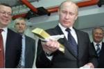 Nước Nga dồn dập mua vàng, cả thế giới e ngại
