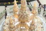 Những chiếc bánh cưới giá hàng chục tỷ đồng