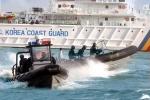 Tuần duyên Hàn Quốc nổ 180 phát súng đuổi tàu cá Trung Quốc đánh bắt trái phép